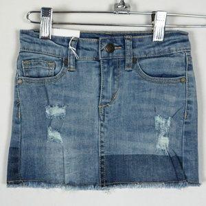 Joes Jeans GIRLS Markie Mid Rise Mini Denim Skirt